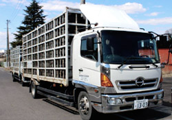 廃タイヤ処理の流れ 収集・運搬